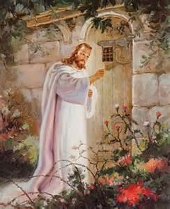 Poor Jesus. Won't someone let him in?