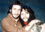 with Pete Townsend