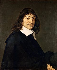 "René Descartes  ""I think, therefore I am."""