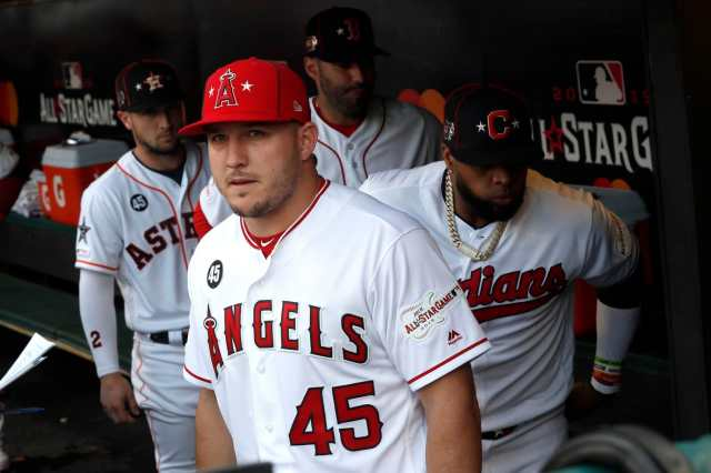 angels-mike-trout-tommy-la-stella-wear-tyler-skaggss-number-in-all-star-game