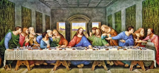The Last Supper Restored, Leonardo Da Vinic