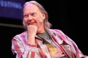 The New Yorker Festival 2014 - Neil Young In Conversation With Nick Paumgarten